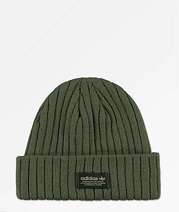 adidas Originals Base Green & Black Beanie