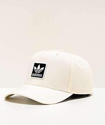 adidas Originals Dart Trefoil White Snapback Hat
