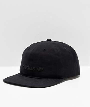 adidas Originals Relaxed Decon II Black Snapback Hat