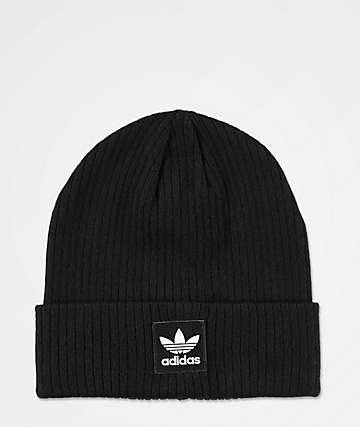 adidas Originals Rib II Black Beanie