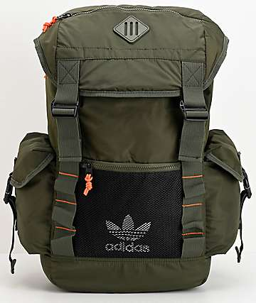 adidas Originals Urban Utility 2 Dark Green Backpack