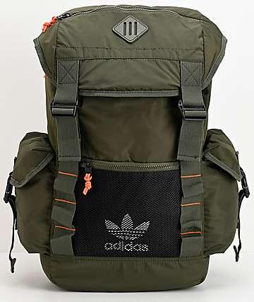 adidas Originals Urban Utility 2 mochila verde oscuro