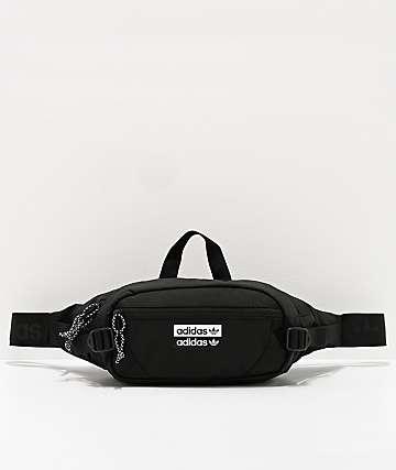 adidas Originals bolso de pecho negro de utilidad