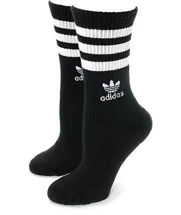 adidas Roller Black Crew Socks