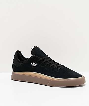 adidas Sabalo Black, White & Gum Shoes
