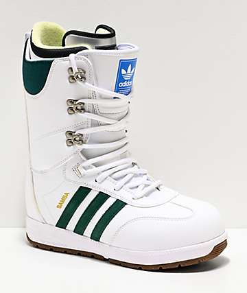 adidas Samba ADV White Snowboard Boots 2020