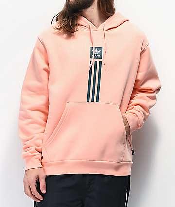 adidas Solid Pillar Pink Hoodie