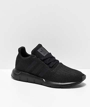 adidas Swift Run Black Shoes