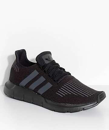 adidas Swift Run Core & Utility Black Shoes