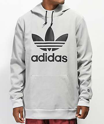 adidas Team Tech Grey Hoodie