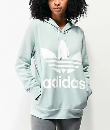 adidas Trefoil Vapour Green Hoodie