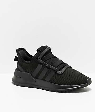adidas U Path Run Black & Black Shoes