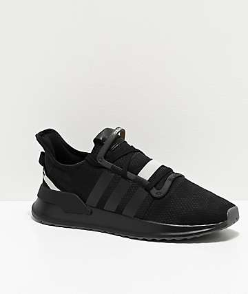 adidas U Path Run Black & Silver Shoes