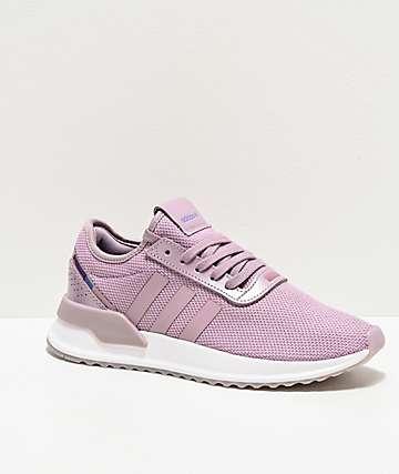 adidas U Path Run X W Purple Shoes