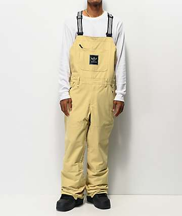 adidas Utility Sand 20K Snowboard Bib Pants