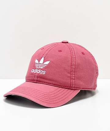 adidas Women's Original Maroon & White Strapback Hat