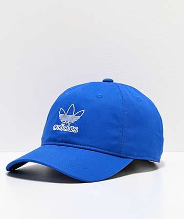 adidas Women's Relaxed Collegiate Royal Blue Strapback Hat