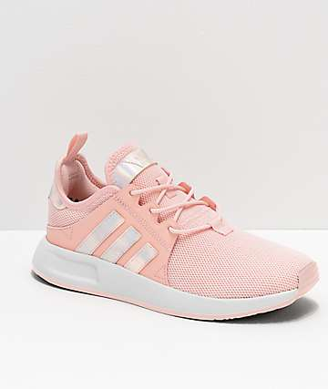 adidas Xplorer Pink & Metallic Shoes