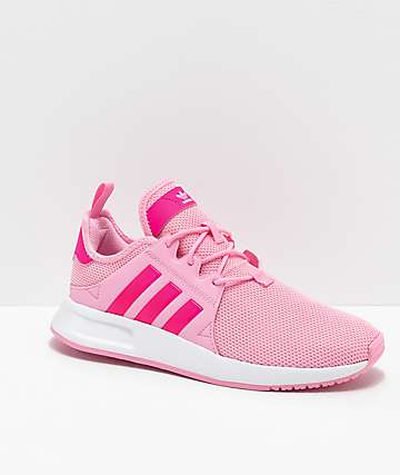 adidas Xplorer Pink & White Shoes