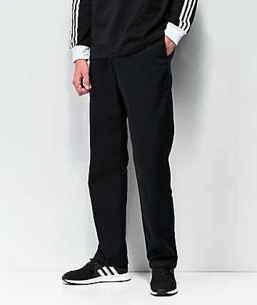 adidas pantalones chinos en negro
