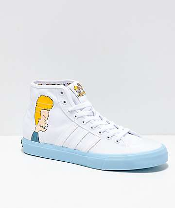 adidas x Beavis and Butthead Matchcourt Hi-Top Shoes