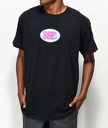 aintnobodycool 666 Cent Store Black T-Shirt