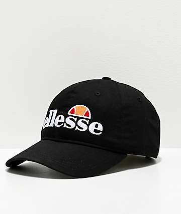 ellesse Galdo Black Strapback Hat