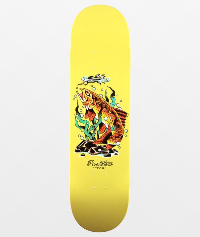 "5Boro Bronx Trout 8.25"" Skateboard Deck"