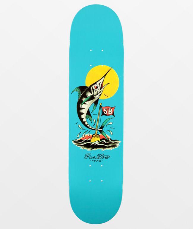 "5Boro Manhattan Marlin  7.75"" Skateboard Deck"