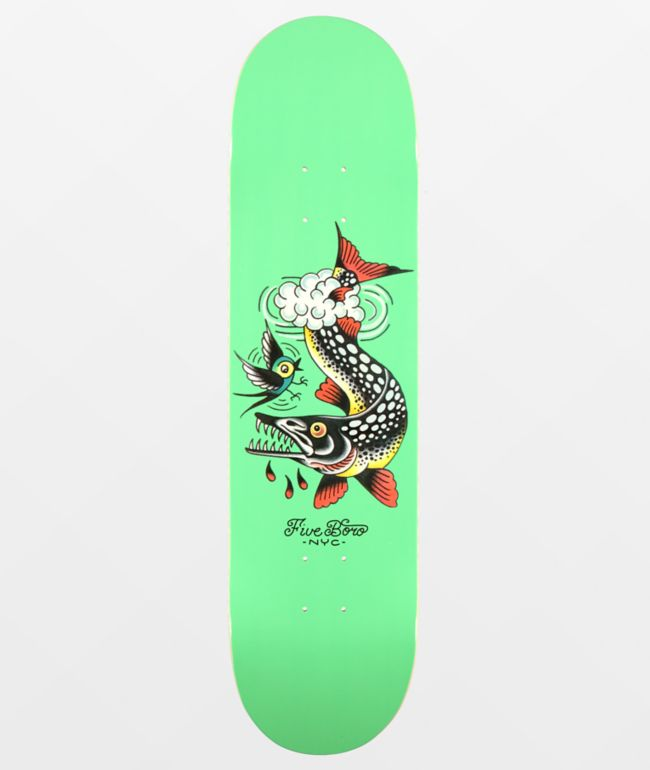 "5Boro Queens Pike 8.0"" Skateboard Deck"