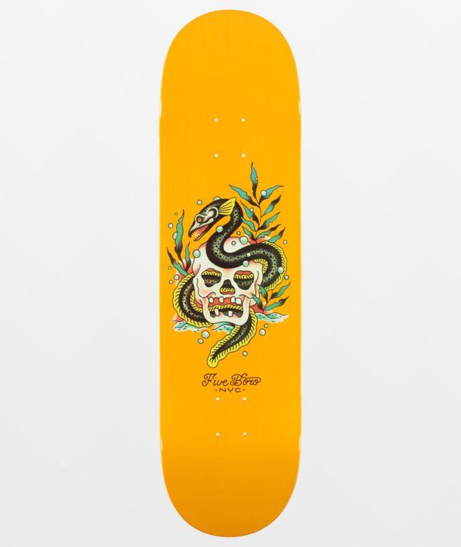 "5Boro Staten Island Eel 8.5"" Skateboard Deck"