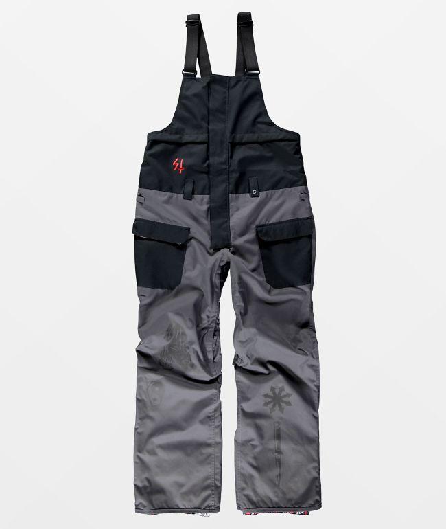 686 x Sketchy Tank Frontier 10K Shell Snowboard Bib Pants