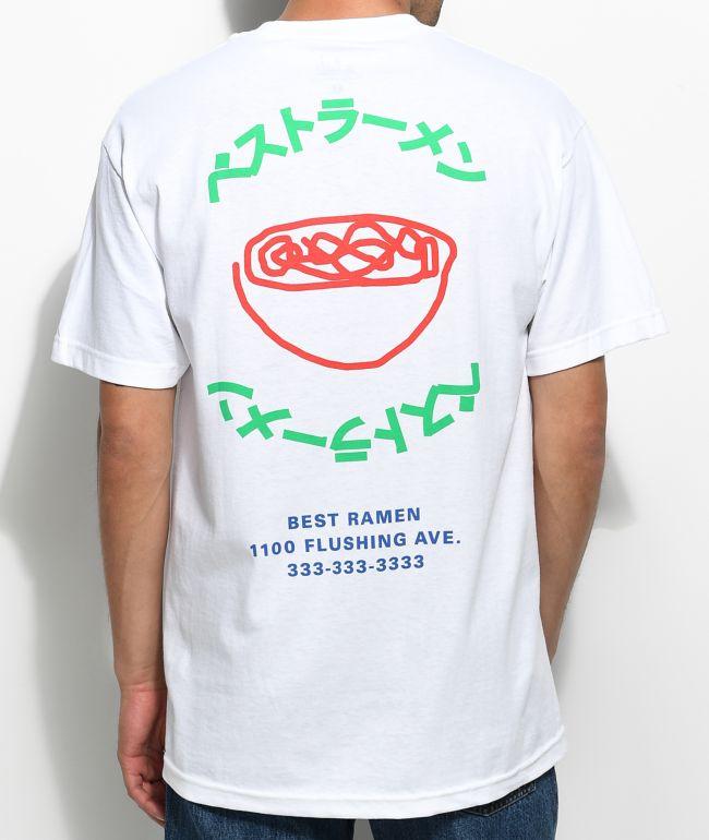 A-Lab Best Ramen! White T-Shirt