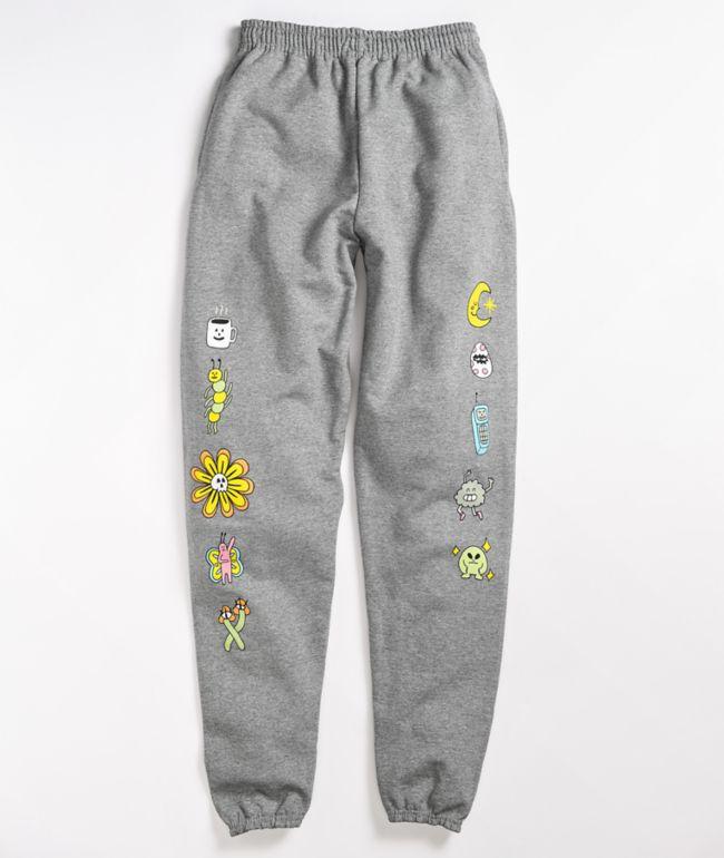 A-Lab Buddies Grey Sweatpants