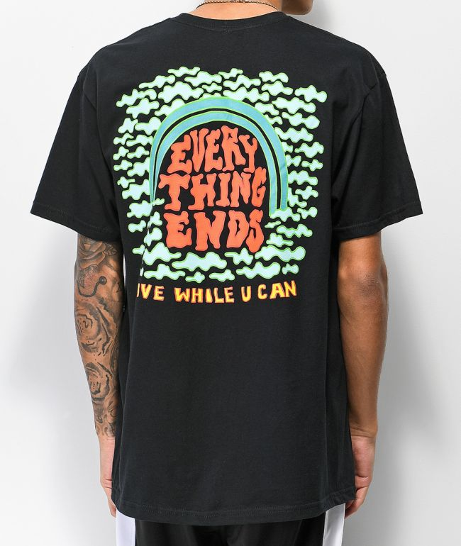 A-Lab Everything Ends Black T-Shirt