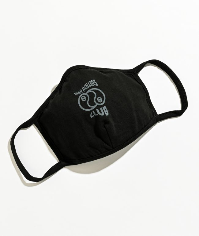 A-Lab High Rollers Club Black Face Mask