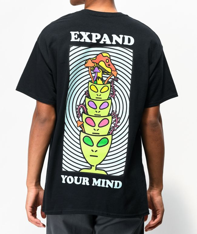 A-Lab Minds Expanded Black T-Shirt