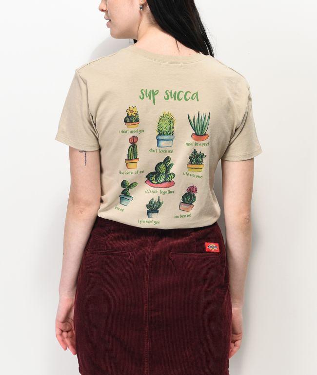 A-Lab Rainen Sup Succa Cactus Tan T-Shirt