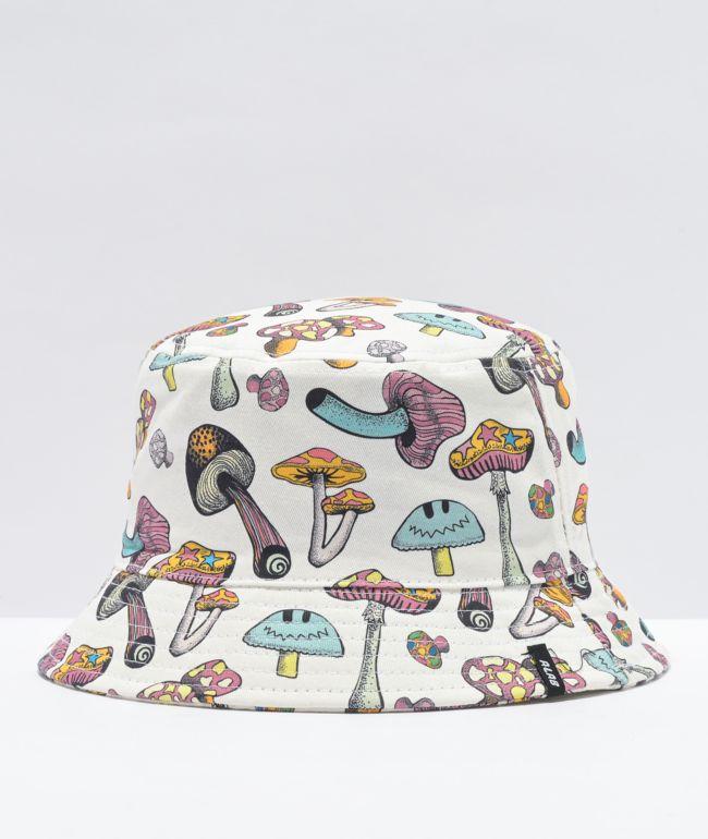 A-Lab Shroomy White Bucket Hat