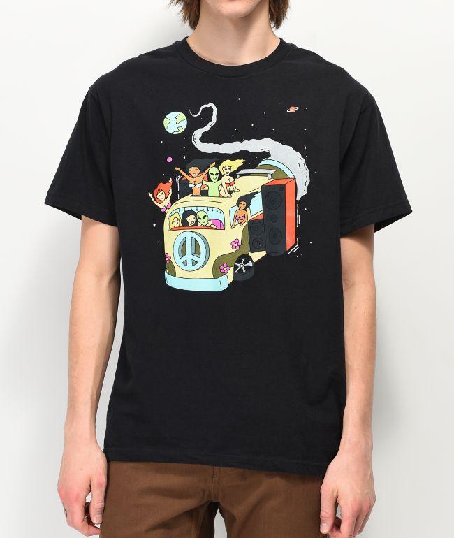 A-Lab Take A Ride Black T-Shirt