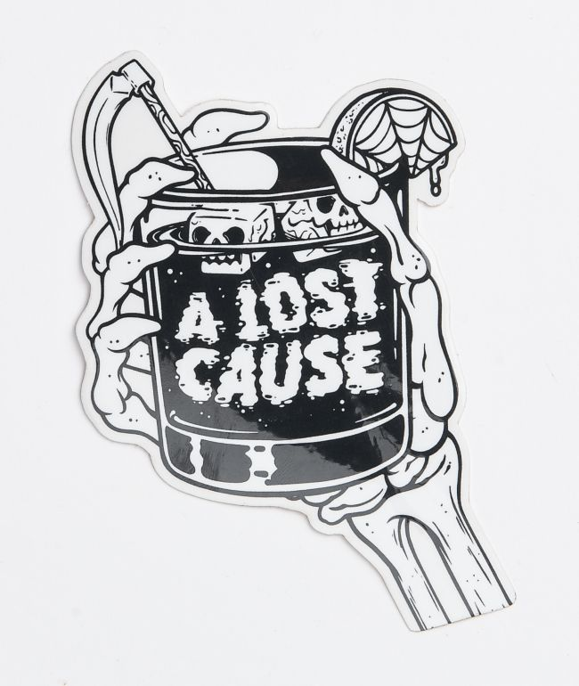 A Lost Cause Cheers Sticker