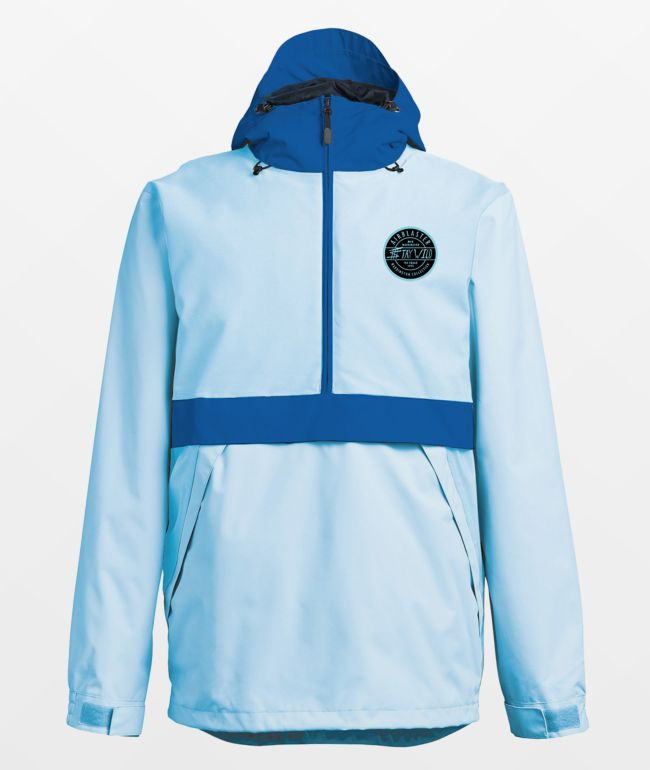 Airblaster Trenchover Max Blue 15K Snowboard Jacket