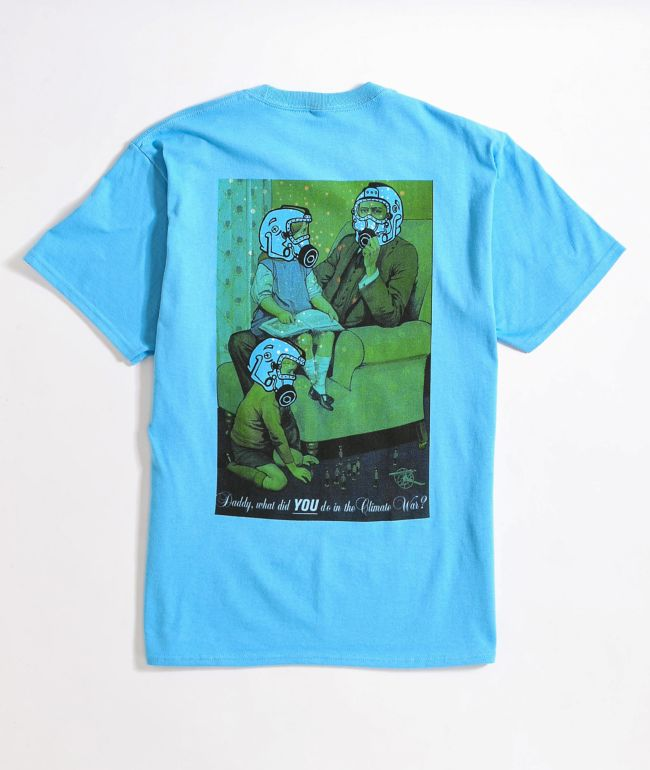 Amplifier Climate Wars Blue T-Shirt