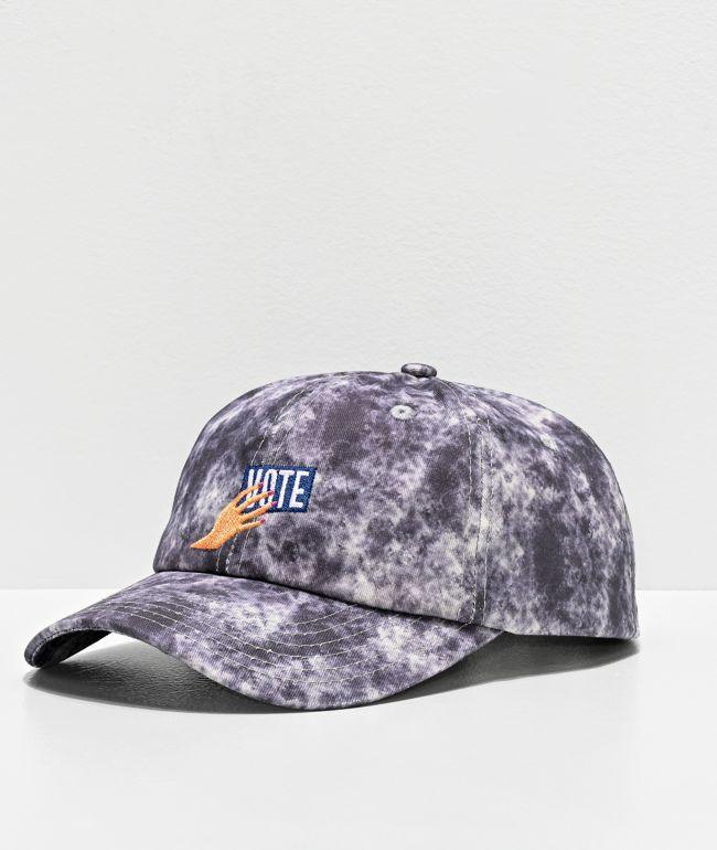 Amplifier VOTE Washed Grey Strapback Hat