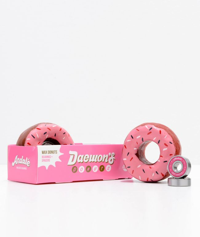 Andale Daewon Donut Skateboard Bearings & Wax