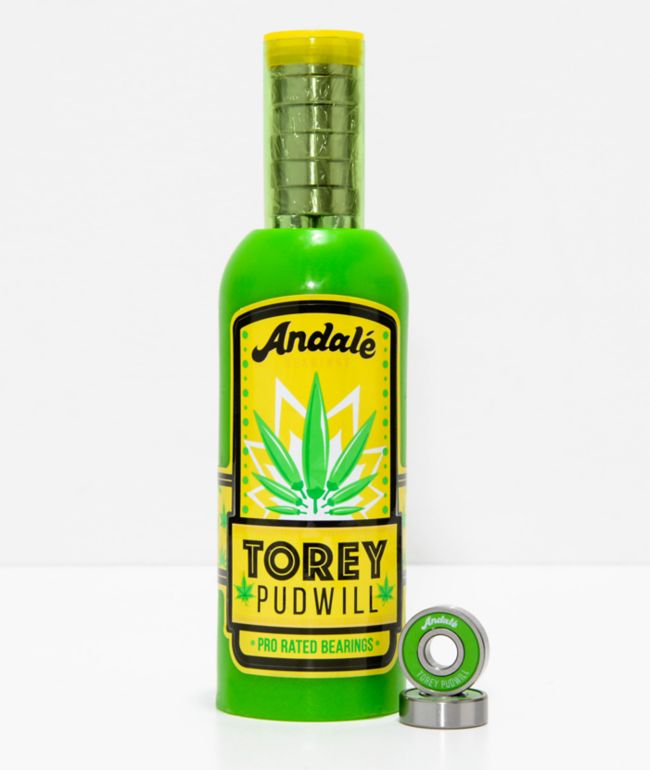 Andale Pudwill Sauce Green Bearings