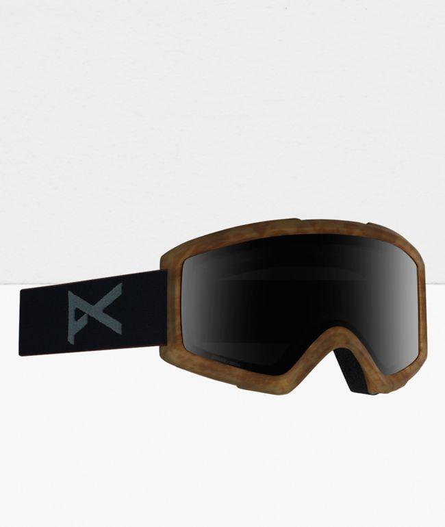 Anon Helix 2.0 Tort & Sonar Smoke Snowboard Goggles
