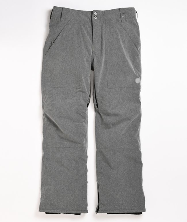 Aperture Boomer Heather Grey 10k Snowboard Pants