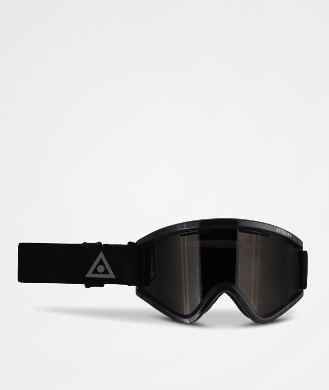 Ashbury Blackbird Triangle Black Snowboard Goggles
