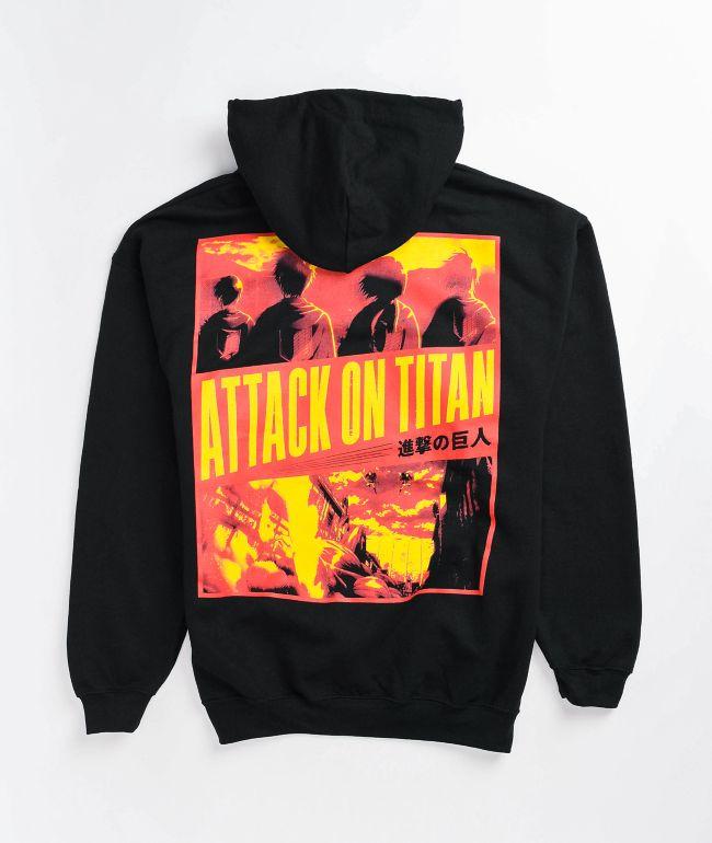 Attack On Titan Season 3 Black Hoodie